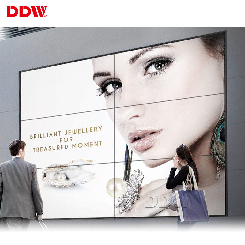 Narrow Bezel 55 Inch Interactive Digital Wall , 60Hz 16dots Touch Screen Video Wall