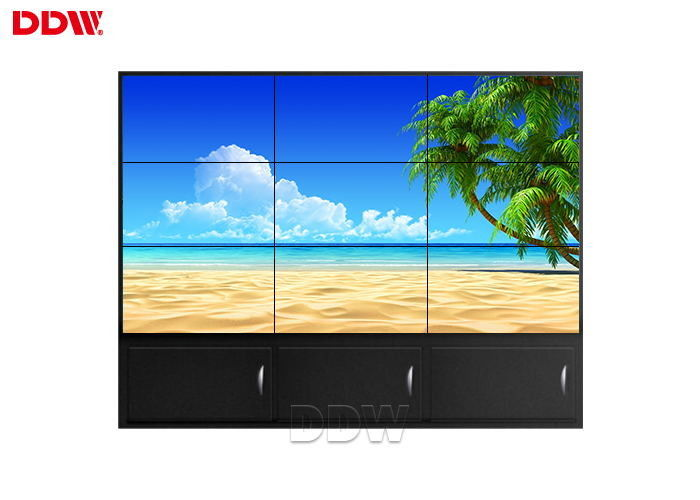 Horizontal Lcd Screen Wall / Multi Touch Multi Screen Display Wall